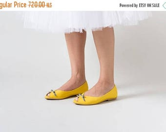 Wedding shoes, Yellow wedding shoes, Yellow shoes, Wedding shoes, leather shoes, Bridal shoes flats, flat wedding shoes