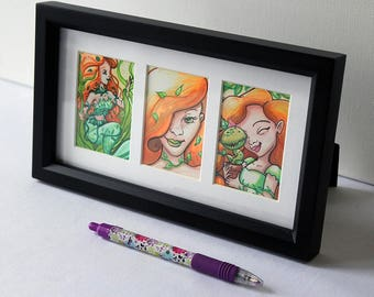 Poison Ivy Collection - framed artwork