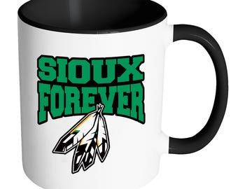 FIGHTING SIOUX FOREVER 11 oz. Coffee Mug