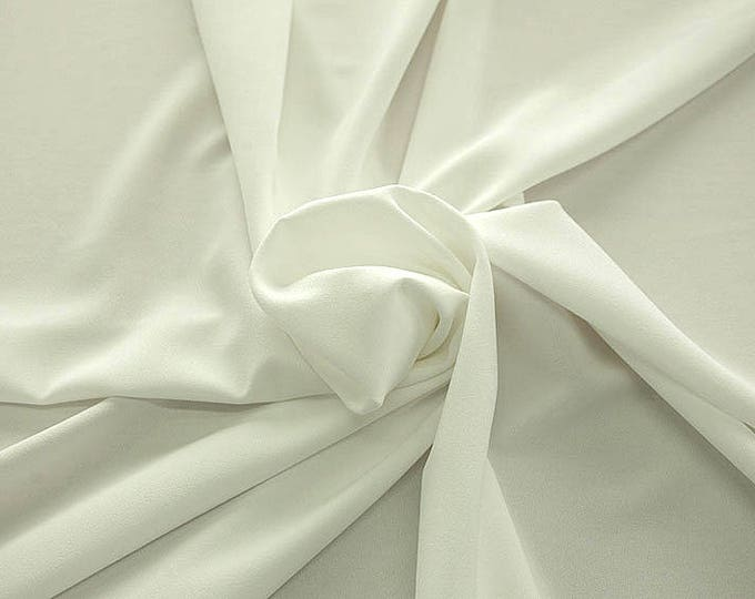 905002-Crepe 100% Polyester, width 150 cm, made in Italy, dry washing, weight 306 gr