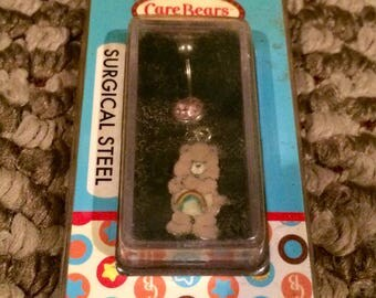 Cheer Care Bear Vintage Belly Ring