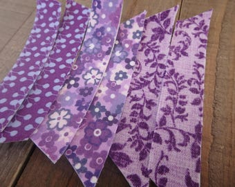 Fabric Tape 10 Count , Purple Fabric Tape