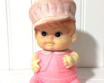 Adorable Vintage Squeak Toy 1968