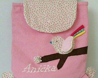 Backpack customize with first name