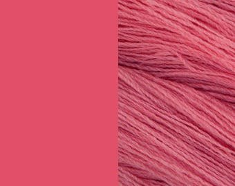 Wool Yarn, old pink, fingering 2-ply worsted pure lambswool 8/2 100g/350m