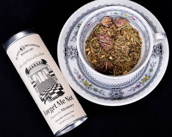 Forget Me Not Loose Leaf Herbal Tea for Memory