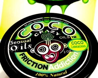 Friction Addiction Intimate Oil- CoCo Limeacious