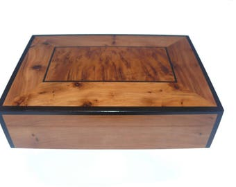 Crate Box Boxes Jewelry Thuja Orient