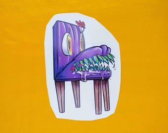 Monster Chair (sticker)