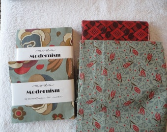 Fabric Pack:  Modernism by Barbara Brackman for Moda - please see listing for details