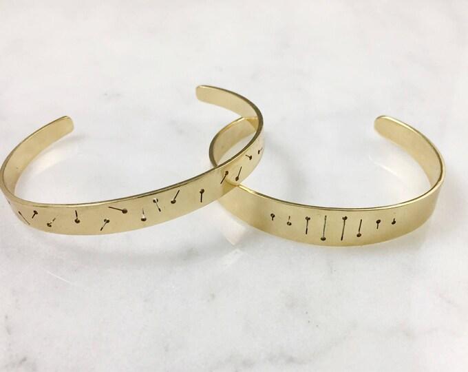 Brass Parallel Cuff