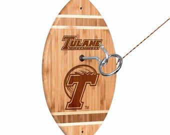Tulane University Green Wave Tiki Toss