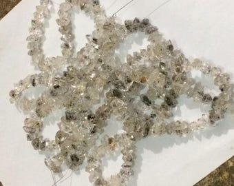 1 Strand Herkimer Diamond ,Quartz Double Terminated, Crystal ,size====15x9x9mm to 17x10x10mm