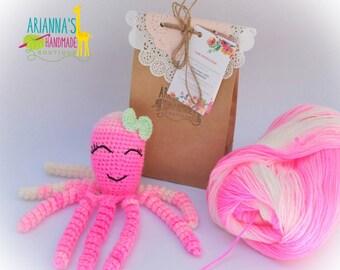 Crochet Octopus / Octopus for Preemie baby's / preemie octopus / Crochet octopus for Preemie babies/ Octopus for premature baby/Baby gift