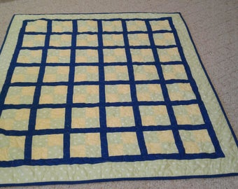4 patch baby quilt