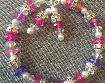 Sparkly dangle bracelet