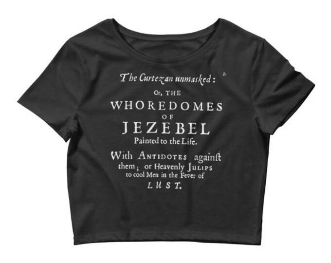 Jezebel Crop- Black