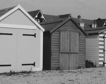 Beach Hut Photograph