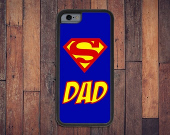 Super Dad Case, iPhone 6/6s/7 case - dad case, gift for dad, Father's Day gift, funny case, I love Dad, dad phone, superman case