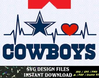 Download Love Dallas Cowboys Svg / Cowboy svg, Lips svg, dallas ...