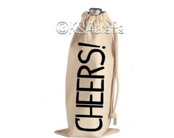 Wine Bags, Wine Tote, Wine Gift