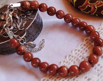 Sunstone bracelet - holidays gift idea