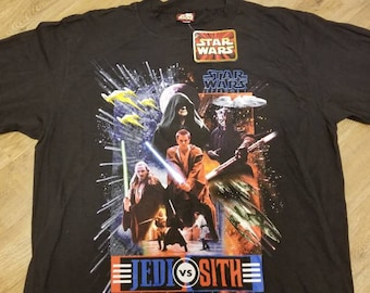 New XL vintage star wars shirt, episode 1 shirt,NWT, NEW, starwars