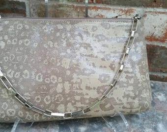 Vintage BCBG Handbag Purse with Silver Chain Handle Excellent Condition
