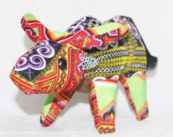 BUFFALO Stuffed Animal - Sewing stuffed - Handmade stuffed animal