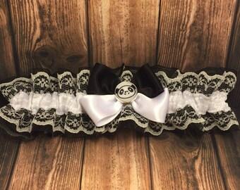 Panda Garter - Wedding Garter - Bride Accessory