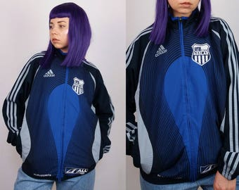 ADIDAS Vintage 90's Adidas Zip-up Track Jacket / Windbreaker / Women's size XS-S | Boys' size L - 14 yrs