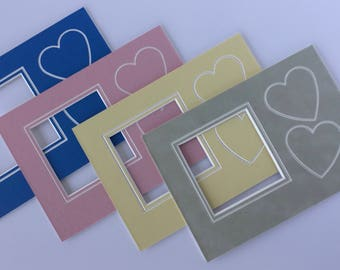 5 x 7 Baby with Hearts Photo Mat