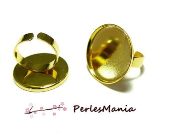 1 support 25mm good quality gold ring