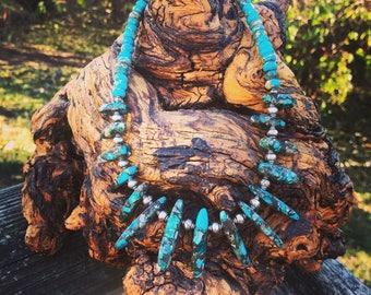 Turquiose Stone Necklace