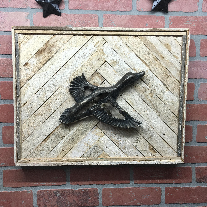 Rustic Duck, Duck, Duck Wall Decor, Duck Wall Art, Cabin Decor ...