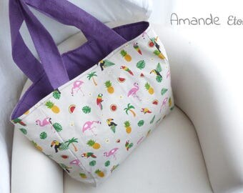 "Bag to make ""Mojito"", the purple version by Amande Etoilée original"