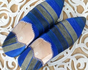 50% off and free shipping for the 2nd peers of Moroccan silk shoes slippers slipper fabric