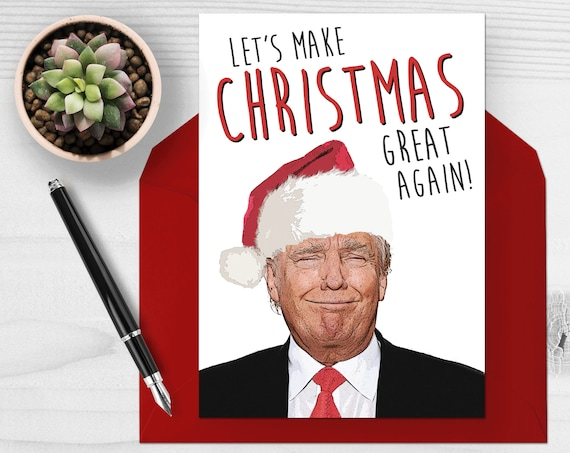 funny christmas cards donald card let s make great 31209