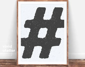Contemporary pop art etsy for Decor hashtags