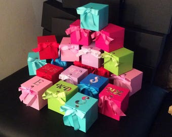 Will You Be My Bridesmaid RING POP Box. Can't Say I Do Without You. ** BLUE ** Beautiful Box