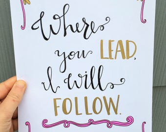 """Gilmore Girls """"Where you lead, I will follow"""""""