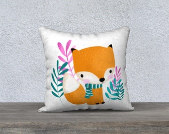 "Cushion cover ""Soft Fox"""