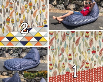 Bean Bag Chair/Lounger - Choose your color!