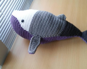 Pride Whale Plush - Available in 2 sizes