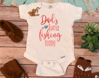 Daddy's Girl, Fishing Onesie®, Dad Onesie, Daddy Onesie, Baby Shower Gift, Baby Girl Clothes, Fishing Buddy Bodysuit, Country Baby Girl Gift