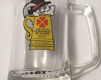 1994 Scott Tournament of Hearts Curling Beer Mug