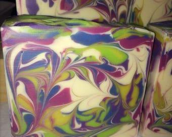Lemongrass & Sage - Cold process, luxury soap