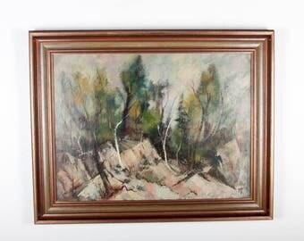 Forest, Zubel Kachadoorian (1924 - 2002) Oil on Board