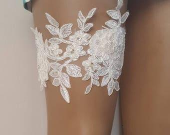 wedding garters  garters, ivory,   lace,    wedding garters,    bridal accessories,  garter suspander,    free shipping!