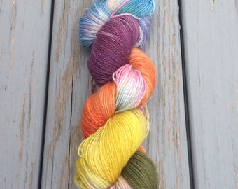 Pippi Longstocking - Hand dyed Yarn